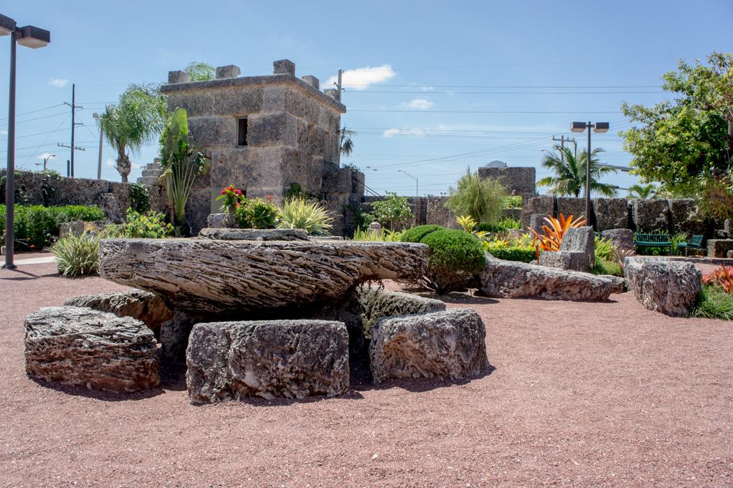 Le chateau de corail - Floride - www.maathiildee.com - table