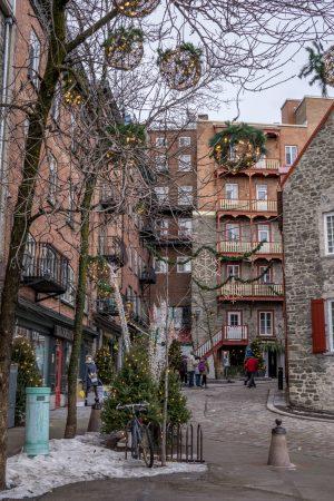 Visite de la ville de Quebec- Ruelle 1
