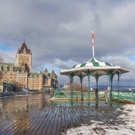 Visite de la ville de Quebec - chateau FRontenac