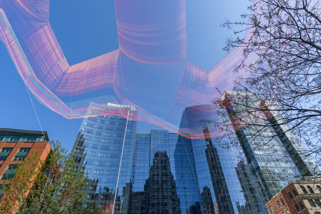 Greenway Boston - Janet Echelman 1