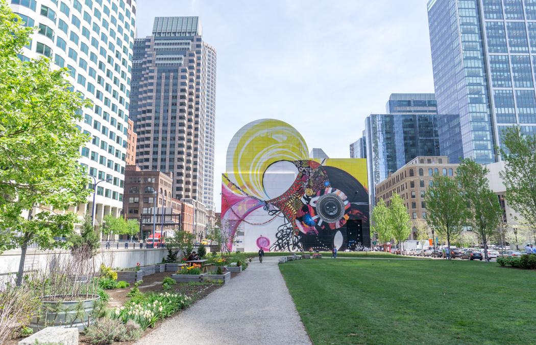 Greenway Boston - Public art - Street art