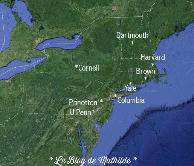 Ivy League - 8 grandes universités américaines de la côte Est des Etats-Unis - Le Blog de Mathilde www.maathiildee.com