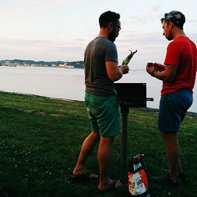 Barbecue Boston Island