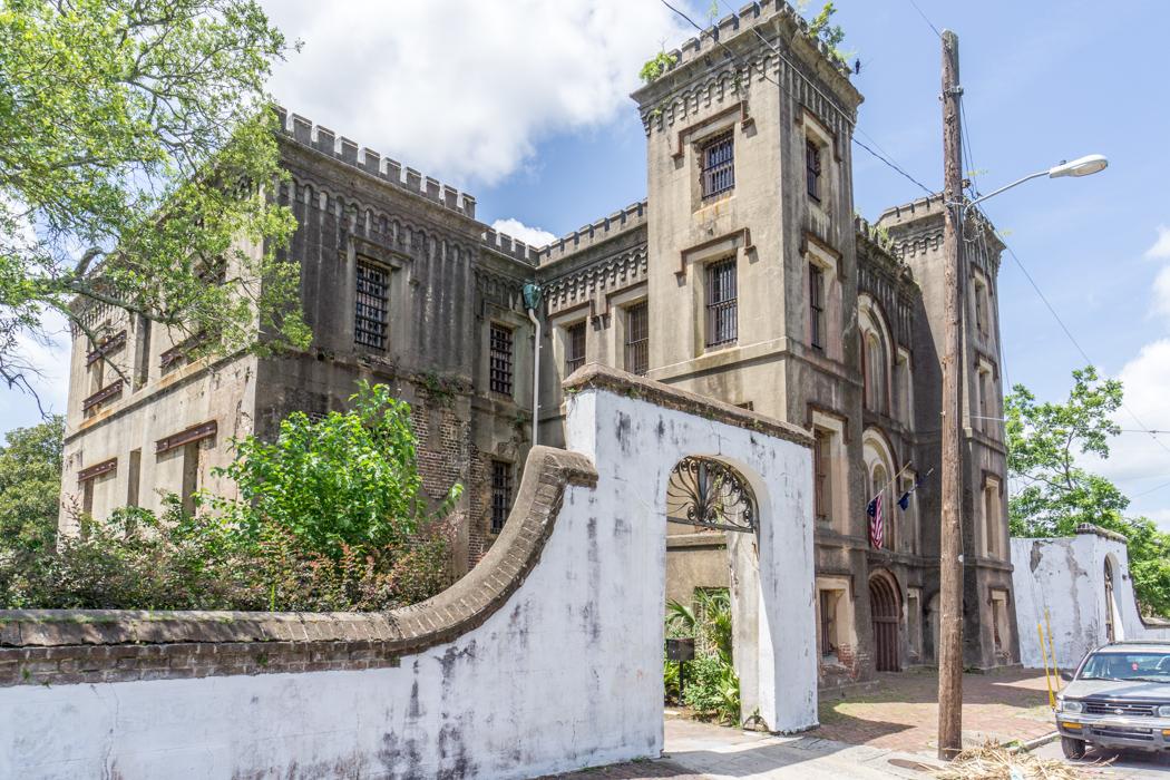 Prison - Charleston Caroline du Sud le centre historique-16