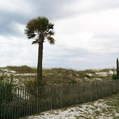Tybee Island avant la tempête 1