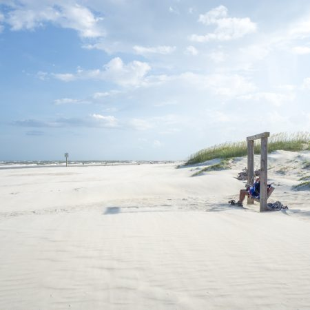 Tybee Island - la plage pres de Savannah-1