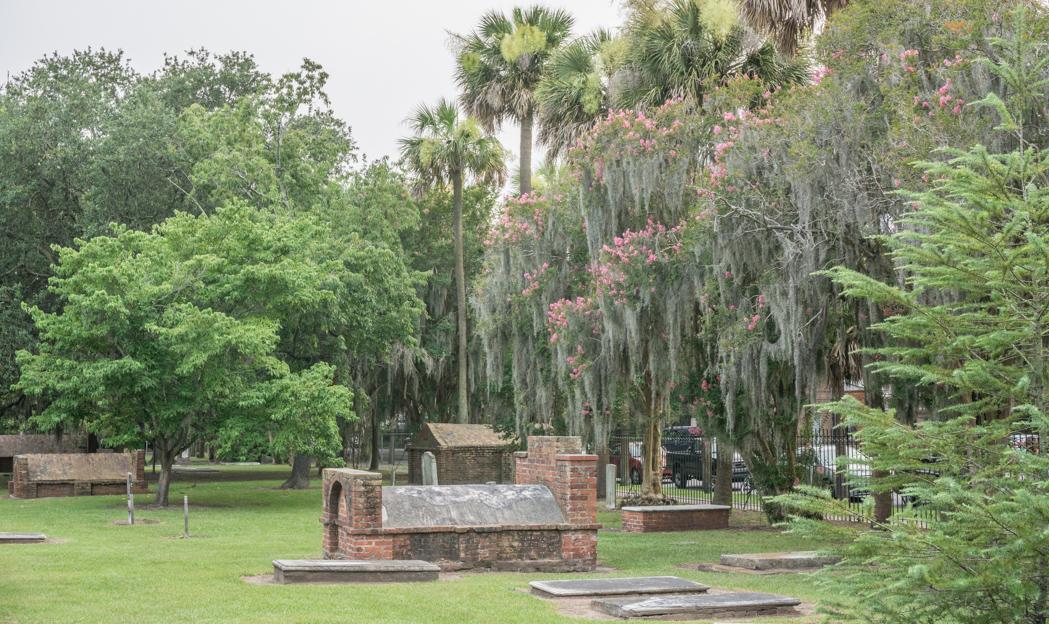 Visiter Savannah Georgie - colonial park cemetery