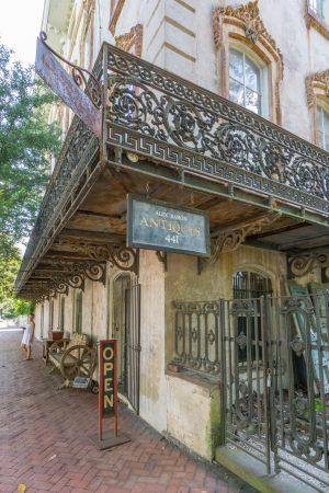 Visiter Savannah Georgie - antiquités