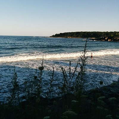 La mer à York, Maine