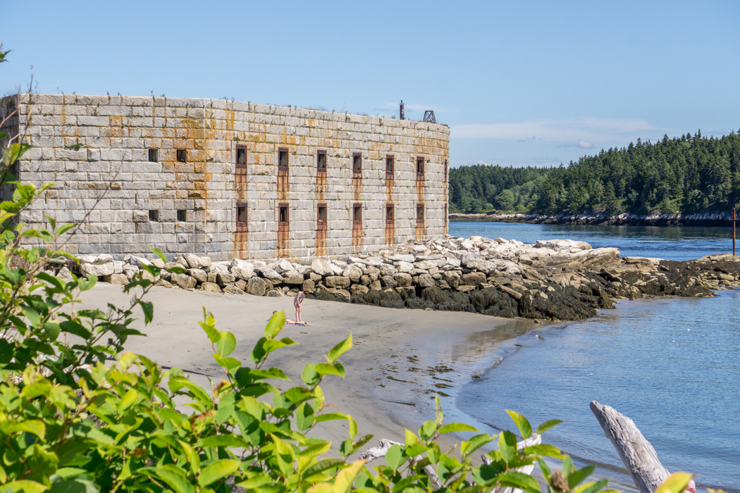 Phippsburg - fort - Maine Nouvelle Angleterre-5