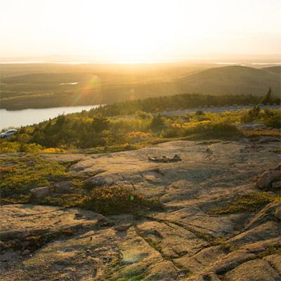 Chemin de randonnée Acadia National Park