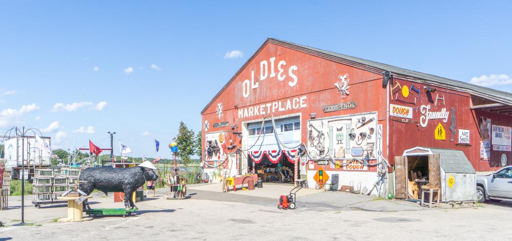 Oldies - magasin d'antiquités - NewburyPort