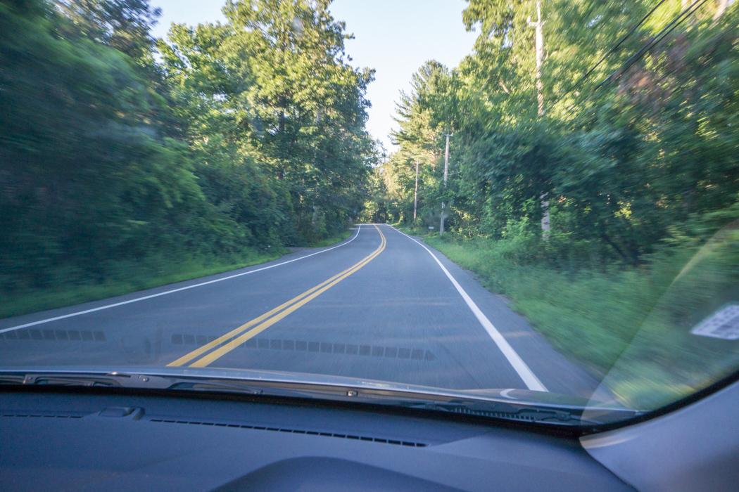 Sur la route de Nouvelle Angleterre