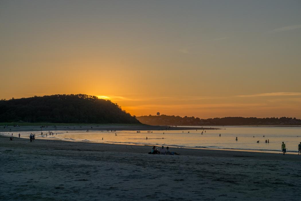 Coucher de soleil Crane Beach