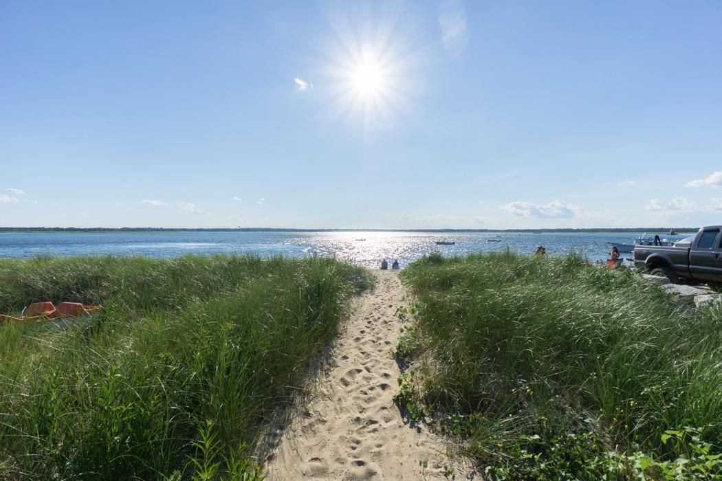 Soleil sur Plum Island