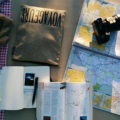 Ecrire un carnet de voyage