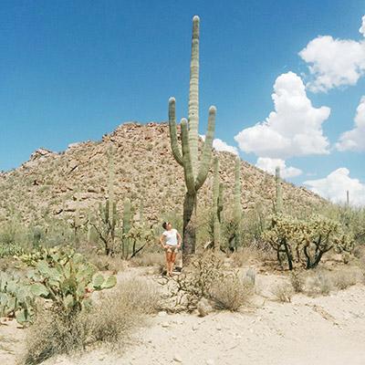 Saguaro et moi