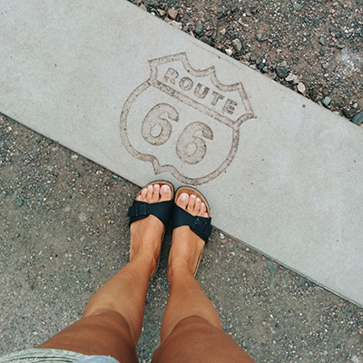 route 66 from where i stand