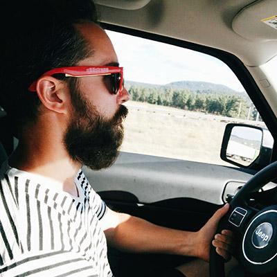 Manu roule - road trip