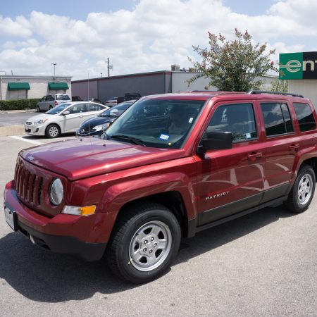 Austin Texas - notre voiture Jeep