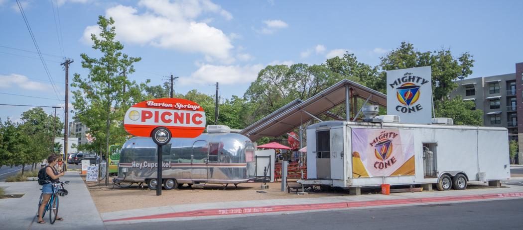 Austin texas - trailer park