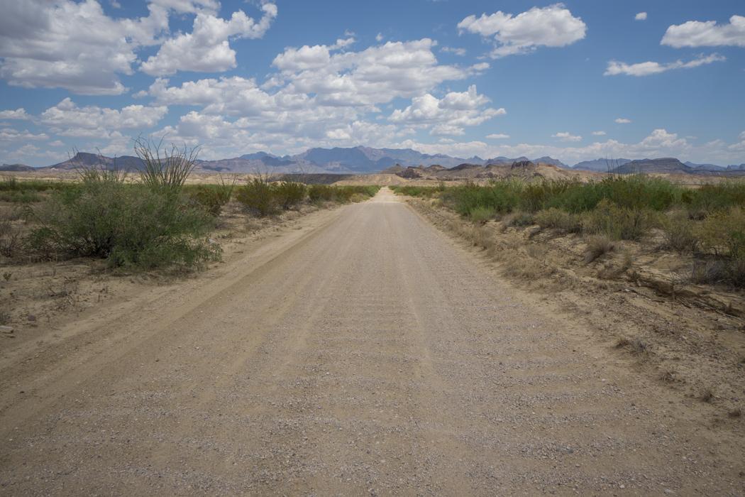 Big Bend Texas Old Maverick Road
