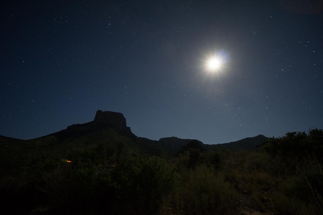 Big Bend Texas - Chisos at night