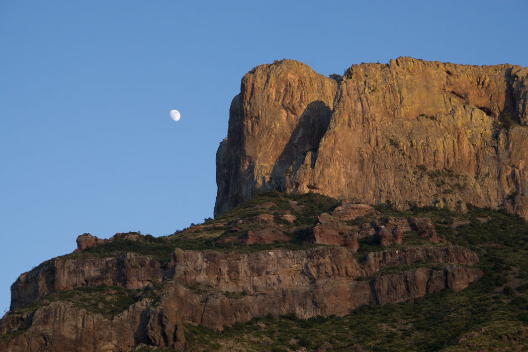 Big Bend texas - la lune