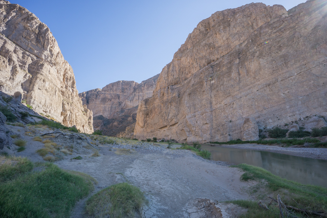 Big Bend Texas - Boquillas Canyon trail