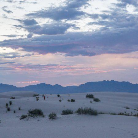 White Sands Dunes Nouveau Mexique