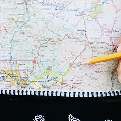 carte routière