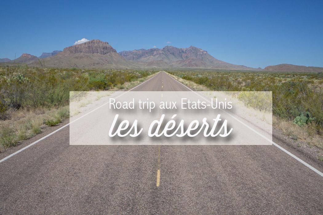 desert road trip usa