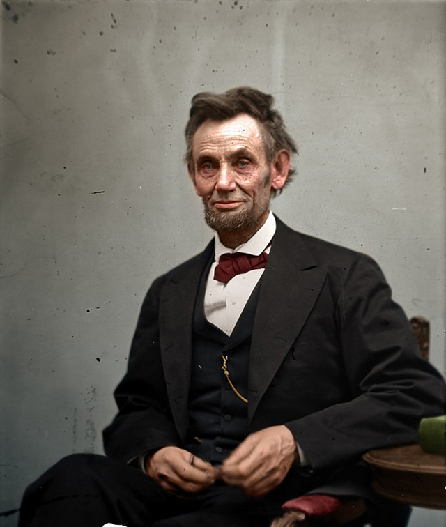 lincoln colorisé