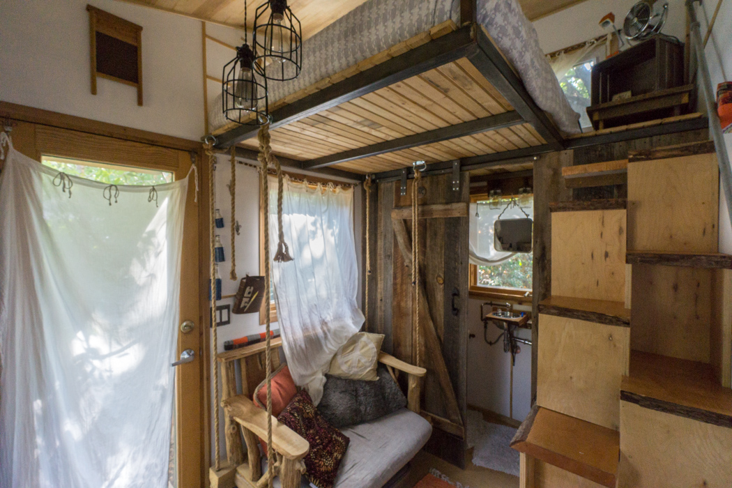 J 39 ai test vivre dans une tiny house le blog usa de mathilde - Photo small house ...