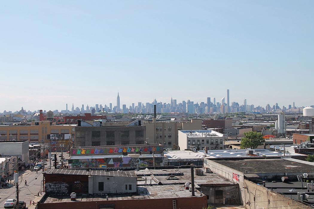 Vue de Manhattan depuis Bushwick