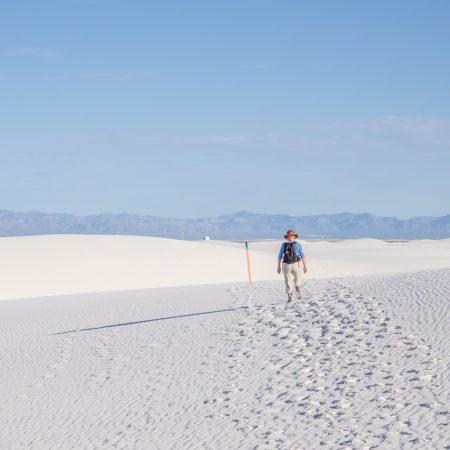White sands dunes nouveau mexique-1