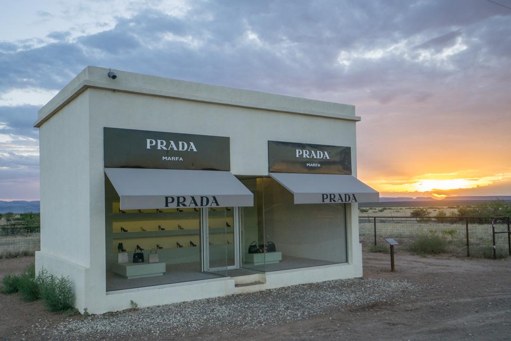 Marfa Texas Prada Store