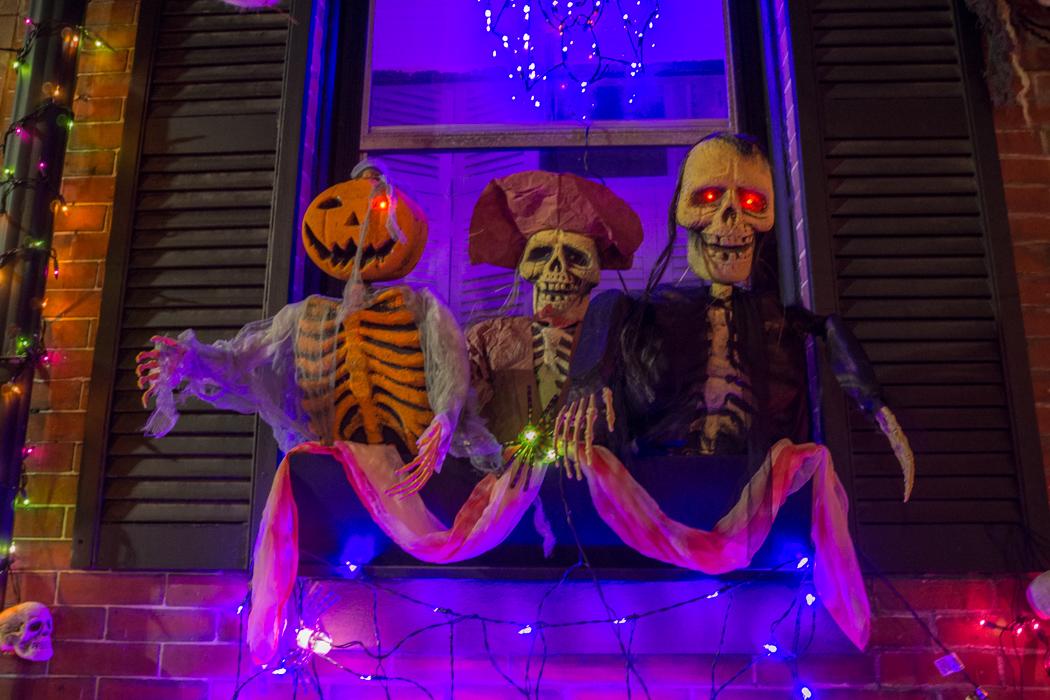 Halloween dans les rues de Boston