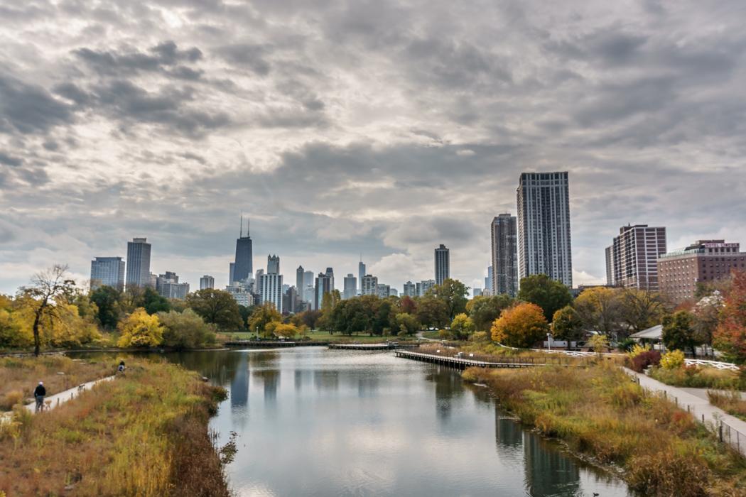 Visiter Chicago depuis le zoo Lincoln Park