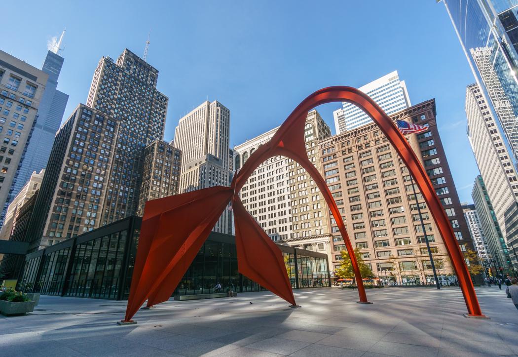 Visiter Chicago - Calder