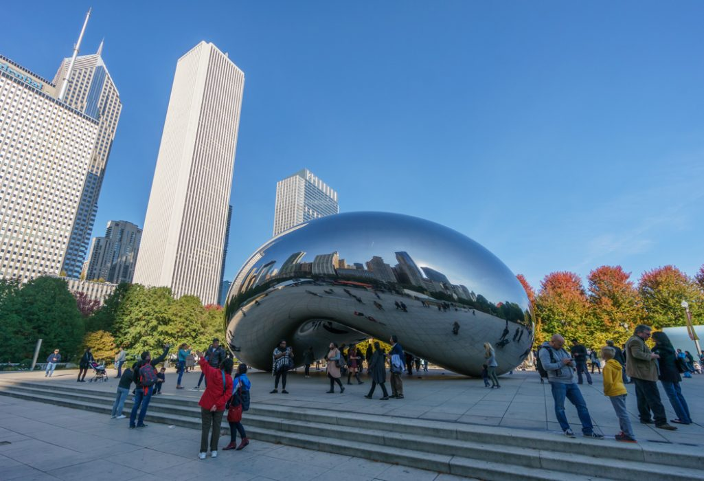 Visiter Chicago - Bean 1