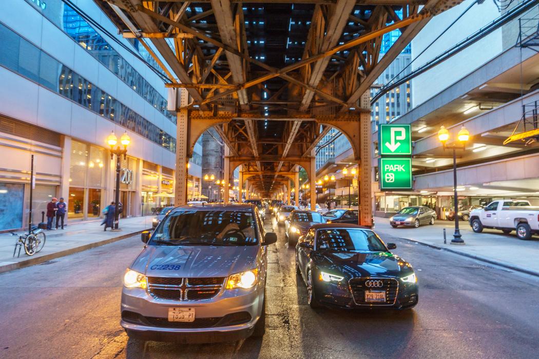 Visiter Chicago - metro