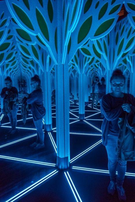 Visiter Chicago musee des sciences et techniques miroirs