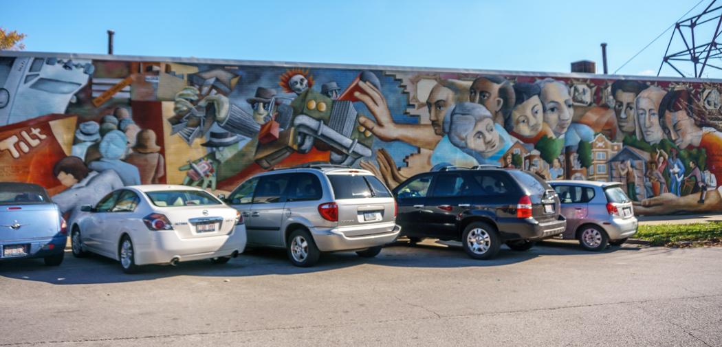 Visiter Chicago - fresque