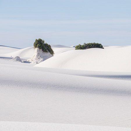white sand dunes nouveau mexique