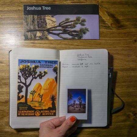 Carnets - Joshua Tree Park California-22
