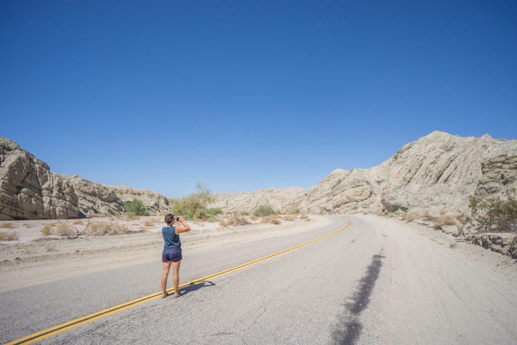 Route USA Californie Salted Sea-1