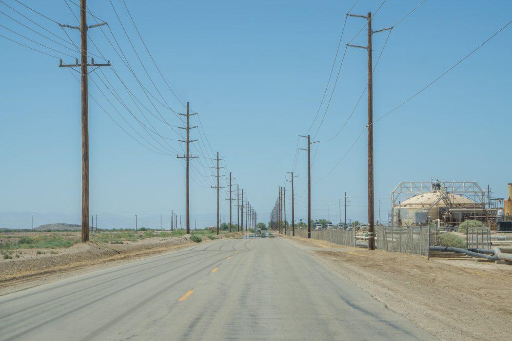 Route USA Californie Salted Sea-5