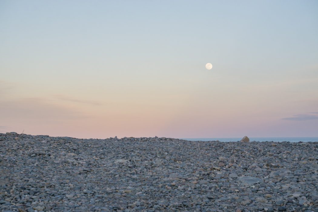 Moonrise - Boston Cote Atlantique ocean-25