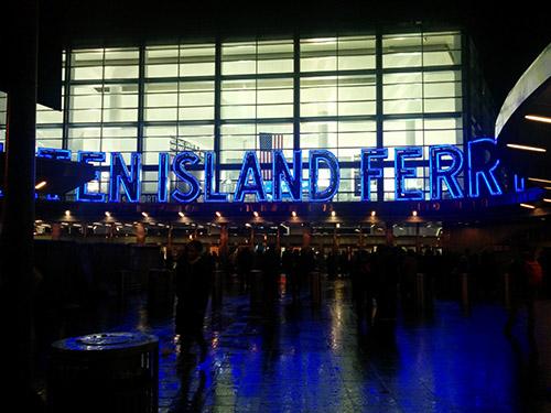 Staten Island ferry gratuit